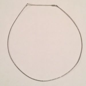 Jewelry - New Italian 925 sterling silver omega choker